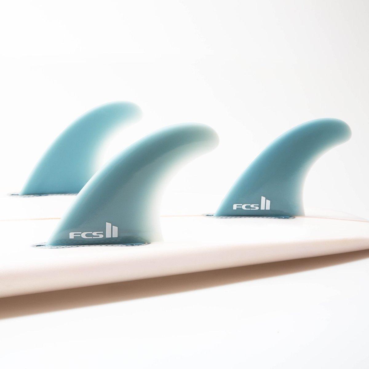 Fcs Ii Performer Glass Flex Tri Fin Set Medium Seabase