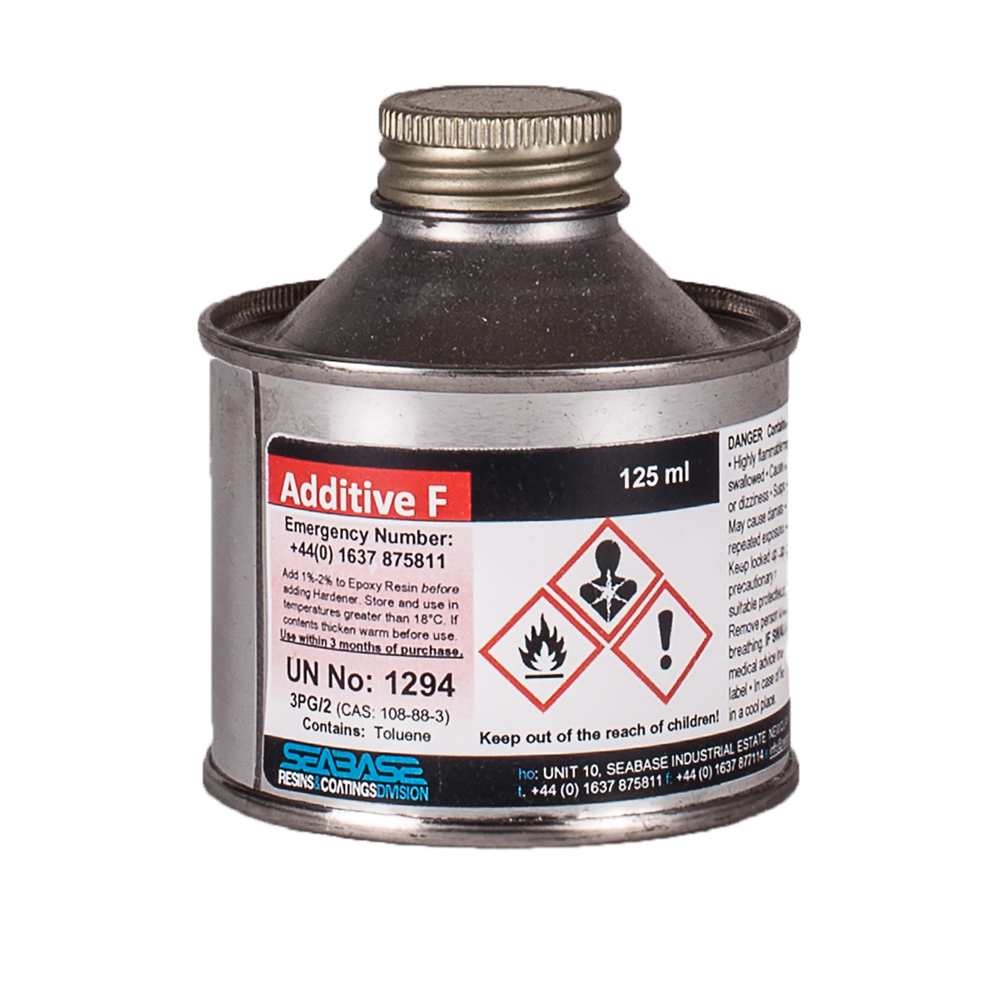 Additive F For Epoxy Resin To Aid Sanding And Resist