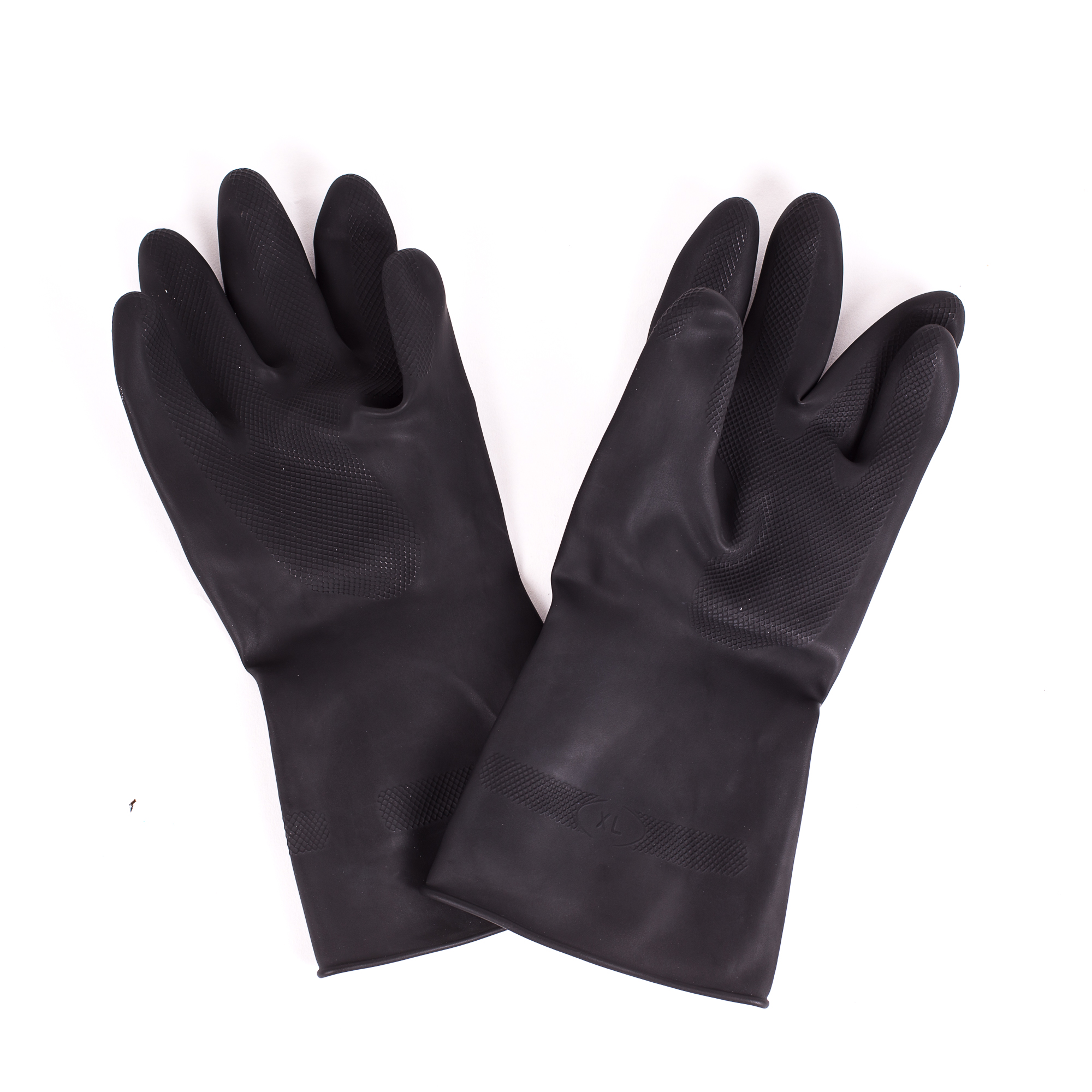 Marigold Black Are Tough Heavy Duty Chemical Resistant Gloves