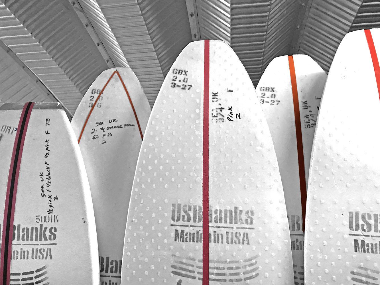 Eric Arakawa Designed 2 3 4 Quot Thick 605 Eps Superfused Eps Blank